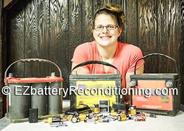 New battery reconditioning course. Green products